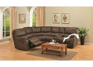 Ramsey Rodeo Brown Modular Reclining Sectional
