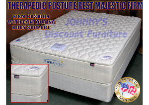 Posture Rest Majestic Firm Twin Mattress w/ Foundation