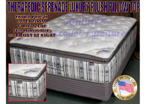 Serenade Luxury Pillow Top Full Mattress