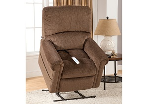 Brookfield Bryan Chocolate Lift Power Recliner