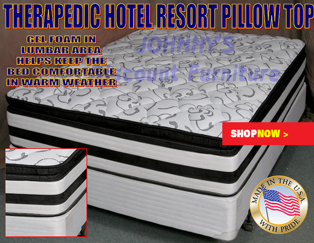 Plush Pillowtop Queen Mattress