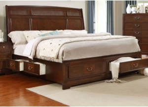 Image for 5172 QUEEN BED STORAGE