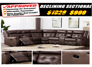 Image for 3633  RECLINING SECTIONAL