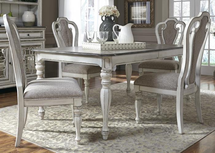 Liberty Magnolia Manor Dining Table & 4 Chairs,Liberty Furniture