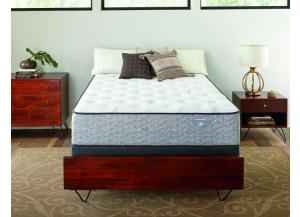 Serta Elmhurst Plush Queen Mattress Set
