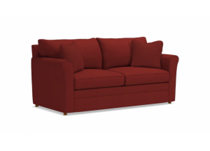 Image for LA-Z-BOY Leah Full Sleeper Loveseat with iCLEAN Fabric