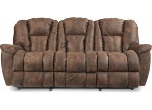 LA-Z-BOY MAVERICK Sofa with iClean Mahogany Fabric 330582 D156077