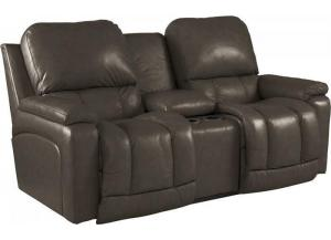 LA-Z-BOY Greyson Power Console Loveseat 49P530 LG104579