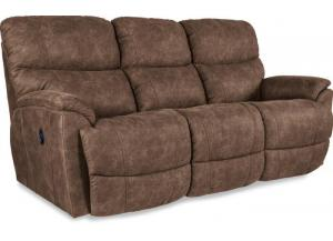 La-Z-Boy Trouper Reclining Sofa with iClean Fabric 440724 E153775