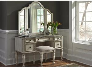 Liberty Magnolia Manor Vanity & Stool