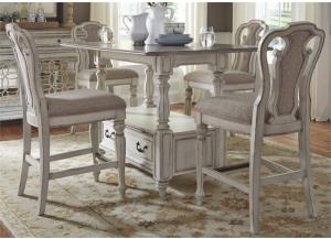 Liberty Magnolia Manor Gathering Table & 4 Chairs