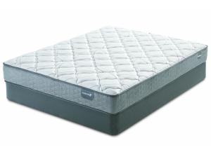 Serta Casselbury Plush Queen Mattress & Boxspring