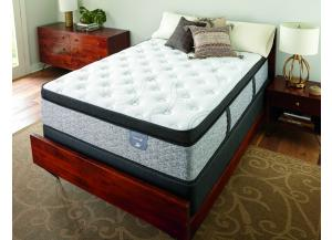 Serta Elmhurst Pillowtop Twin Mattress Set