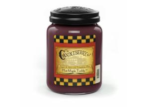 Candleberry Hot Maple Toddy 26oz Jar Candle