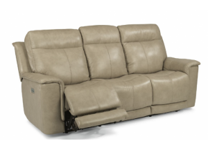 Flexsteel Power Headrest Reclining Sofa