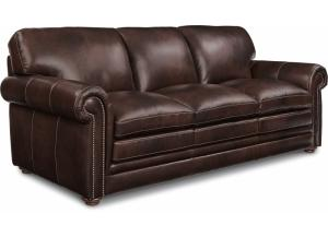 La-Z-Boy Conway Leather Sofa 710976 LB159977