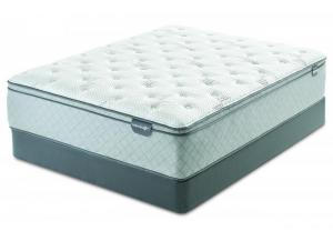 Serta Harrell Eurotop Queen Mattress Set
