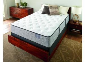 Serta Elmhurst Plush Twin Mattress Set