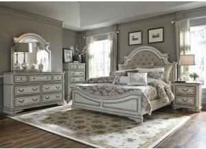 Liberty Magnolia Manor Queen Bed, Dresser & Mirror, Chest, & Nightstand