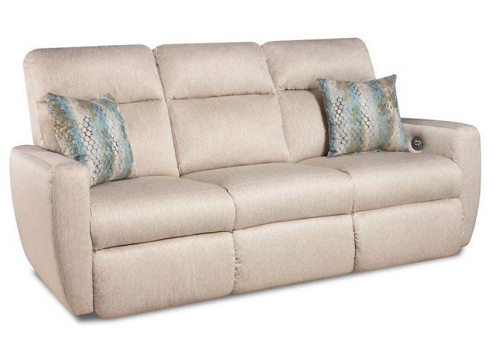 Knock Out Sofa w/Power ,Southern Motion