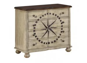 Nautical 4 Drawer Chest