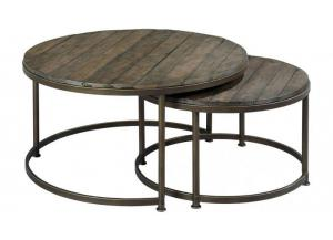 Leone Rnd Nesting Cocktail Table