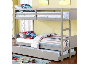 Annette Full Bunk Bed w/Trundle