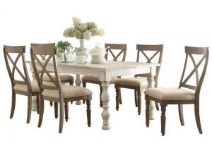 Templeton 5Pc Dining Set With X-Back Chairs