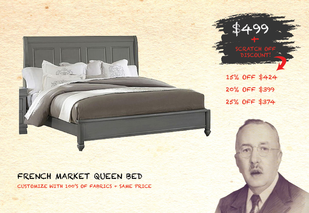 French Market Queen Bed