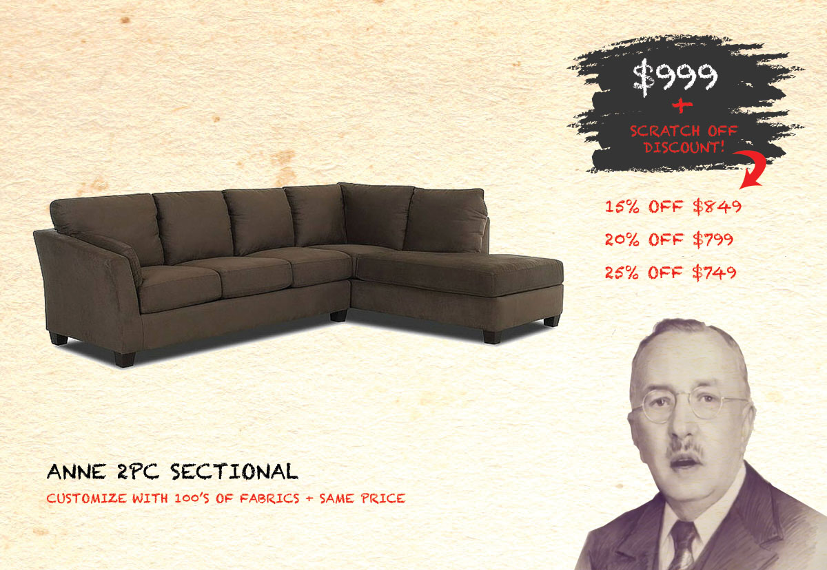 Anne 2pc Sectional