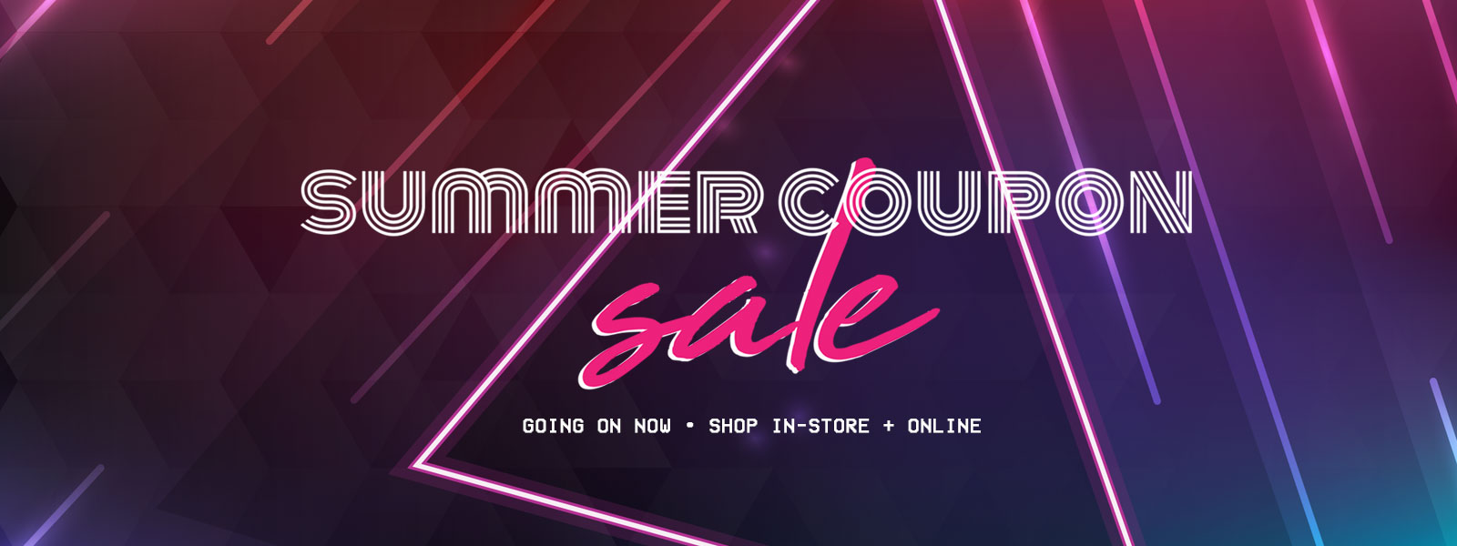 Summer Coupon Sale