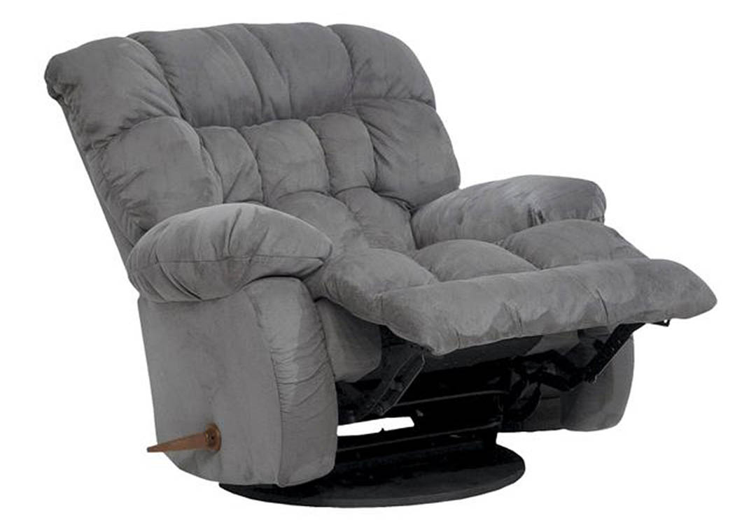 Teddy Graphite Swivel Rocker Recliner,In-Store Products
