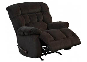 Daly Chocolate Rocker Recliner