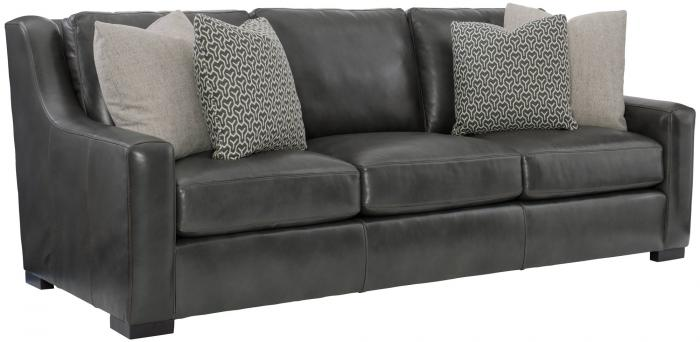 Germain Leather Sofa,Bernhardt