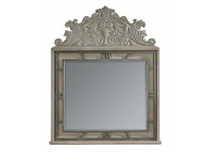 Image for Arch Salvage - Benjamin Mirror - Parch