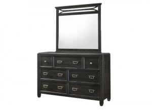 Ashton Dresser and Mirror