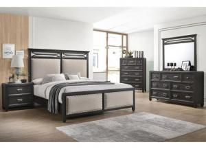 Image for Ashton Queen Bed, Dresser, Mirror, Nightstand and Chest Set