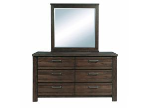 Ruff Hewn Dresser and Mirror