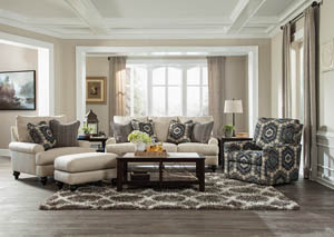 Westchester Indigo Sofa and Loveseat
