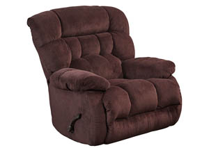 Cranapple Chaise Rocker Recliner