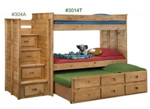 Bunkbed w/ Storage Trundle