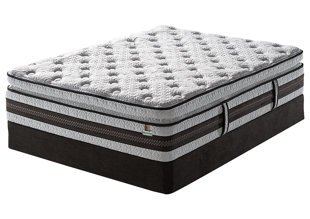 iSeries Honoree Super Pillow Top Full Mattress w/ Foundation,Serta