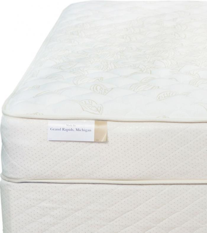 Grand Rapids Bedding Co. Opera Firm Queen w/boxspring,Serta