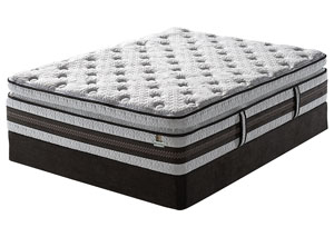 iSeries Honoree Super Pillow Top King Mattress w/ Foundation