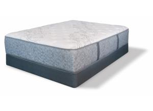 Serta Tomkins King Plush Mattress w/ Foundation