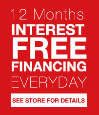 12 Months Interest Free Financing