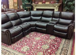 Sacramento 7-Piece Sectional With Left & Right Side Power Recliners
