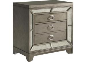 Lenox 2 Drawer Nightstand With Built-In USB Charging