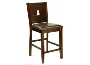 Lakeport Espresso Height Pub Chair