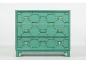 Matrix Accent Chest-Turquoise